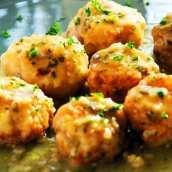 Albóndigas de Bacalao y Morcilla en Salsa
